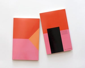 Image of Shapes Notebook - Pink - PRE-ORDER