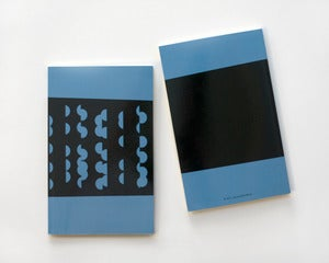 Image of Shapes Notebook - Blue - SOLD OUT