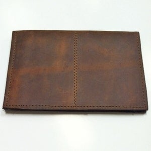 Image of Leather Bi-Fold Passport Cover