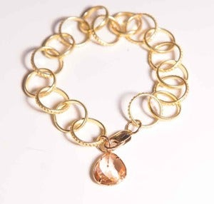Image of Andrea Montgomery Link Bracelet