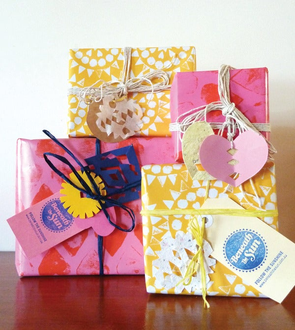 Image of Hearts Gift Wrap