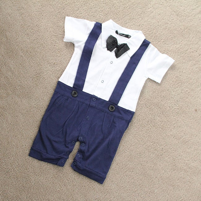Image of Toddler Tuxedo in Blue