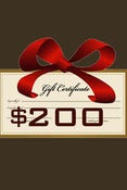 Image of Gift Certificate $200