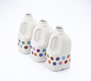 Image of Polkadot Milk Bottle