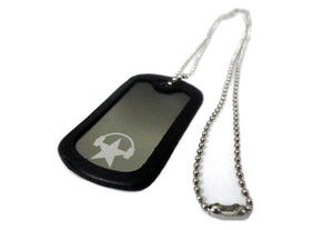 Image of CAVATA Dog Tag Necklace