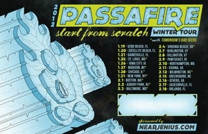 Image of Passafire &quot;Start From Scratch&quot; Winter Tour poster