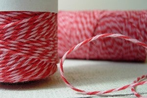 Image of SALE Valentines Bakers Twine {Strawberry Cupcake Timeless Twine™}