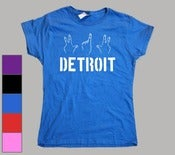 Image of Women's 313 Detroit T-Shirt