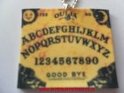 Image of Spooky Horror Halloween Ouija Board Necklace 