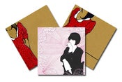 Image of Theoretical Girl set of 3 A6 postcards