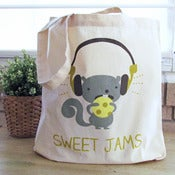 "Image of ""Sweet Jams"" Tote Bag"