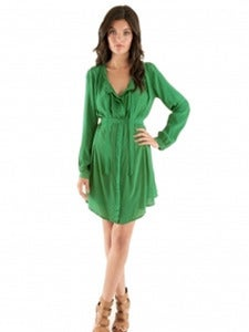 Silk Shirt Dresses