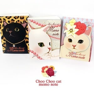 Image of Choo Choo cat memo note
