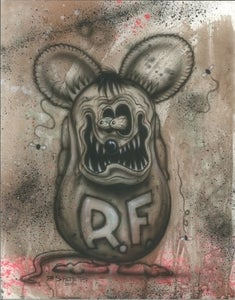 Image of RAT FINK PRINT