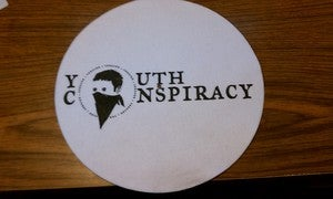 Image of Youth Conspiracy Records slipmat