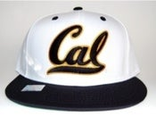 Image of CAL BEARS   WHITE SNAPBACK