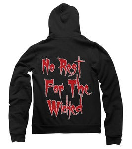 Image of  No Rest For The Wicked Hoodie