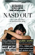 Image of nasd out poster (cd release show)