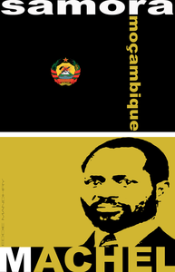 Image of Samora Machel Tribute Poster