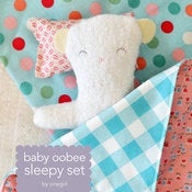 Image of baby oobee sleepy set pattern PDF