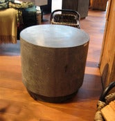 Image of Round Concrete Seat