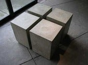 Image of Square Concrete Seats 