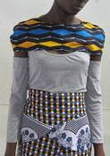 Image of The 'BEGA' Shoulder top