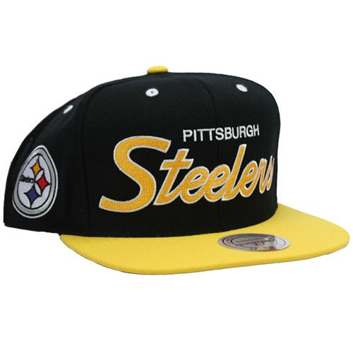 Pittsburgh Steelers Snakeskin Snapback Mitchell