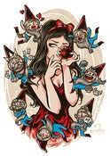 Image of Snow White and the Seven Deadly Sins (Print)