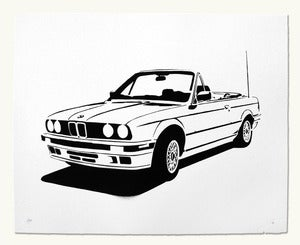 Image of BMW e30 Convertible