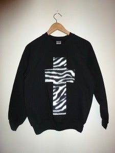 Image of Zebra Cross Sweater