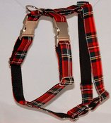 Image of Scottish Tartan Dog Harness on UncommonPaws.com