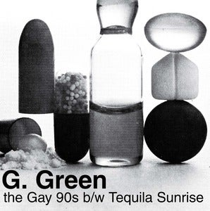 "Image of IBB016 GGREEN- Gay 90's/ Tequila Sunrise 7"" Flexi & Zine"