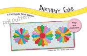 Image of PDF PATTERN: Birthday Cake