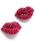 Image of Kiss Lip Earrings