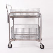 Image of vintage mail cart