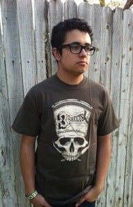 Image of 3S 1-SHOT SKULL T-SHIRT