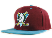 Image of Anaheim Mighty Ducks Vintage Snapback in Purple
