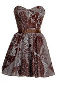 Image of African Tribal Print Party Dress