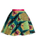 Image of African Tribal Print Full Circle Skirt
