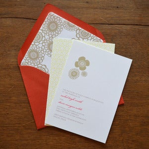 Image of Crochet Wedding Invitation