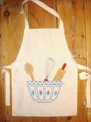 Image of 'Bowl of utensils' apron