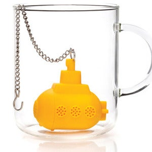 Image of YELLOW SUBMARINE TEA INFUSER