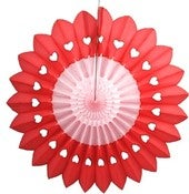 Image of 27&quot; Heart Fan Burst