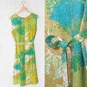Image of HILLSIDE GREENS DRESS // S-M
