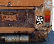 Image of Loaded Goat Sticker