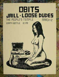 Image of Obits - Jaill - Loose Dudes Poster