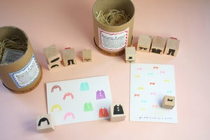 Image of Small Object Stamp Set