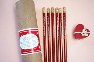 Image of You Are My Heart Pencil Set 