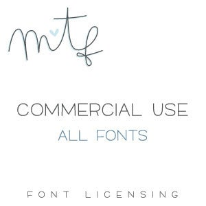 Image of Commercial Use :: All Fonts